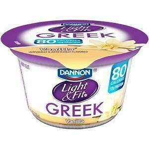 Light and Fit Yogurt vanilla