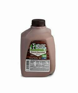 Country Dairy chocolate milk pint