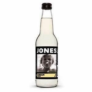Jones Orange Cream Soda Bottle