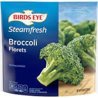 Birds Eye steam fresh frozen broccoli florets