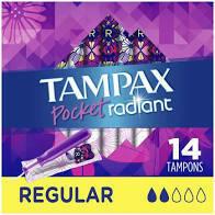Tampax 14 Pocket Regular