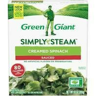 Green Giant Chopped Spinach 9 oz Simply Steam
