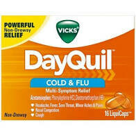 Dayquil 16 liquicaps Severe Cold & Flu
