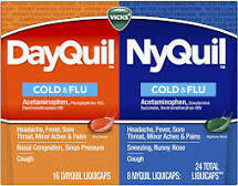 Dayquil Nyquil combo pk 24 liquicaps Cold & Flu
