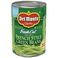 Del Monte French Cut Green Beans 14.5 oz