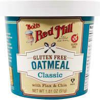 Bob's Red Mill Oatmeal Gluten Free Classic