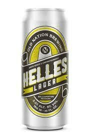 Helles Lager 4 Can Old Nation