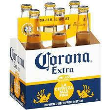 Corona Extra 6 pack bottle