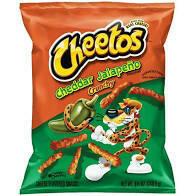 Cheetos Crunchy Cheddar Jalapeno 3.25oz