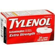 Tylenol Extra Strength 24 Caplets