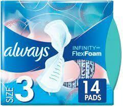 Always Flexfoam Pads 14 count