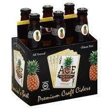 Ace Pineapple 6 pack bottle