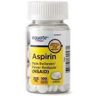 Equate Aspirin 100 tablets