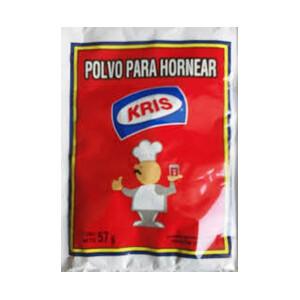 POLVO DE HORNEAR KRIS SOBRE DE 57 GR.