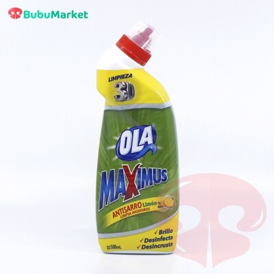 ANTISARRO LIMON OLA MAXIMUS DE 500 ML.