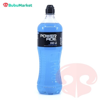 POWERADE MORA AZUL BOTELLA DE 990 ML.