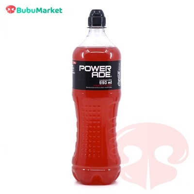 POWERADE MULTIFRUTAS BOTELLA DE 990 ML.