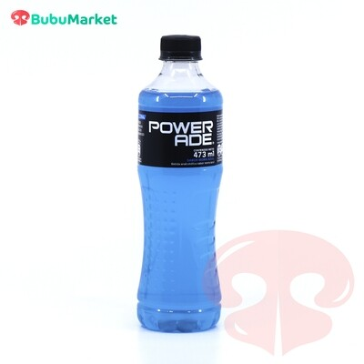 POWERADE MORA AZUL BOTELLA DE 473 ML.