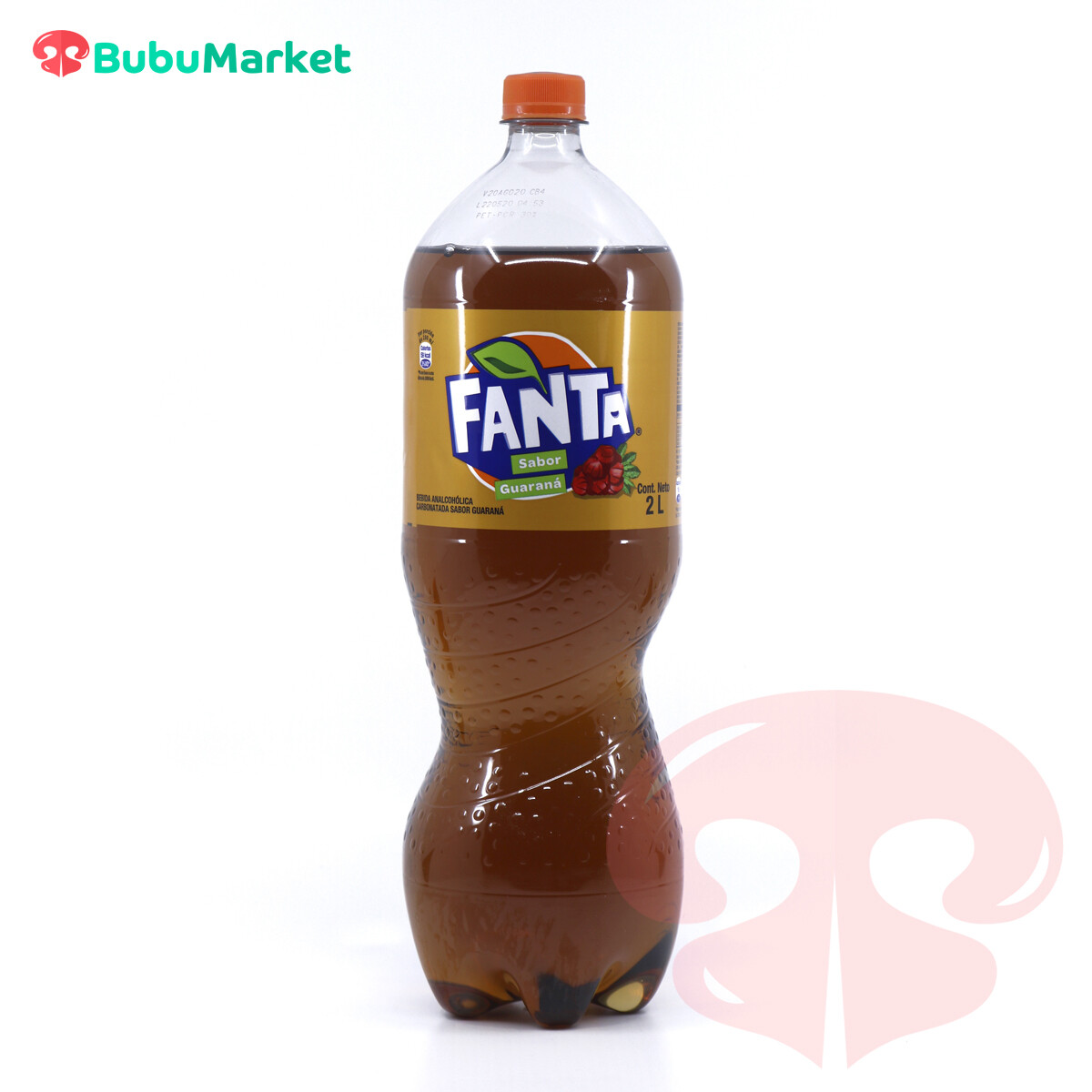 FANTA GUARANA BOTELLA DE 2 L.