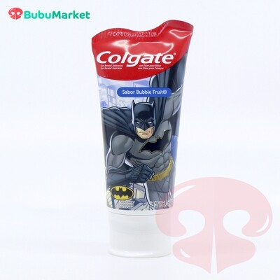 PASTA DENTAL COLGATE NIÑOS 6+ SMILES LIGA DE LA JUSTICIA 75 ML. BATMAN