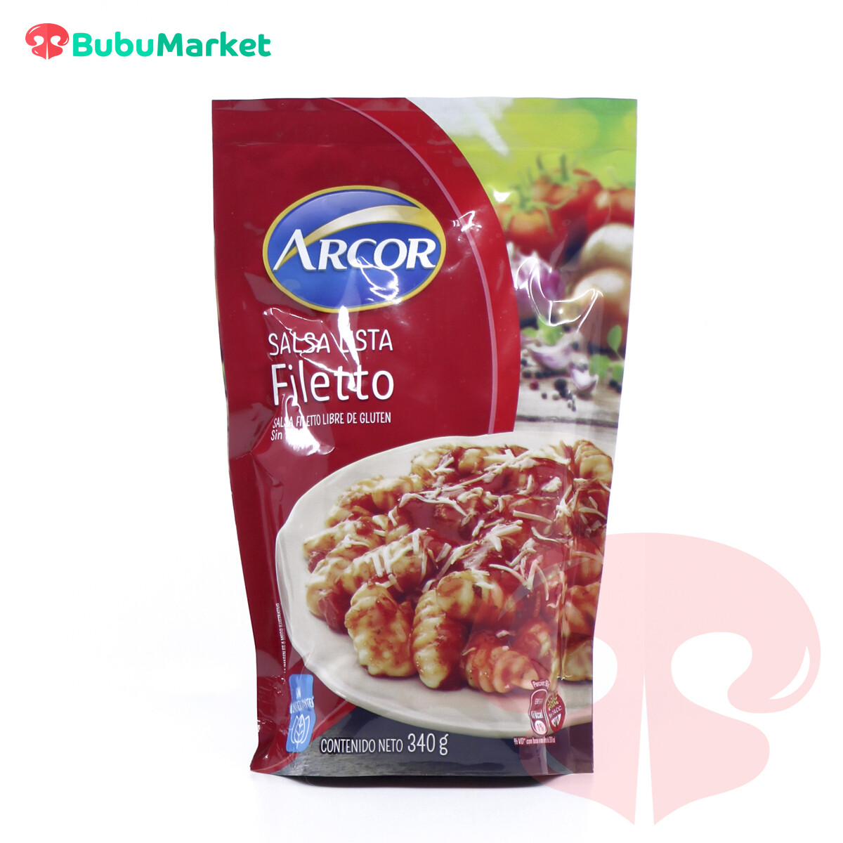 SALSA LISTA FILETTO ARCOR DE 340 GR.