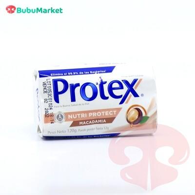 JABON PROTEX NUTRI PROTEC MACADAMIA DE 120 GR.