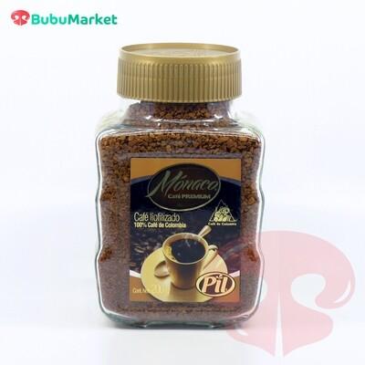 CAFE PREMIUM MONACO PIL FRASCO DE 200 GR.