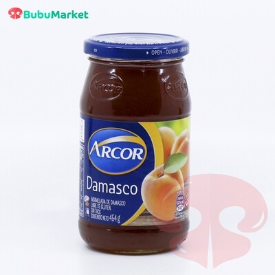 MERMELADA EN FRASCO DAMASCO ARCOR 454 GR.