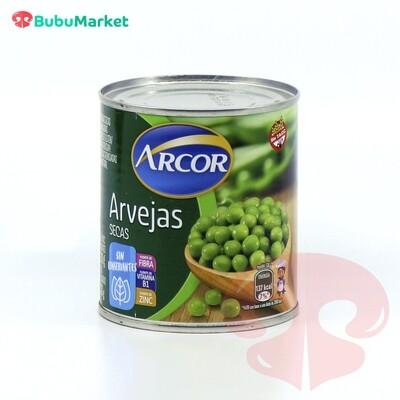 ARVEJAS SECAS EN CONSERVA ARCOR 300 GR.