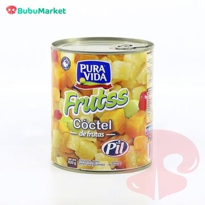 COCTEL DE FRUTAS FRUTSS PURA VIDA PIL DE 820 GR.