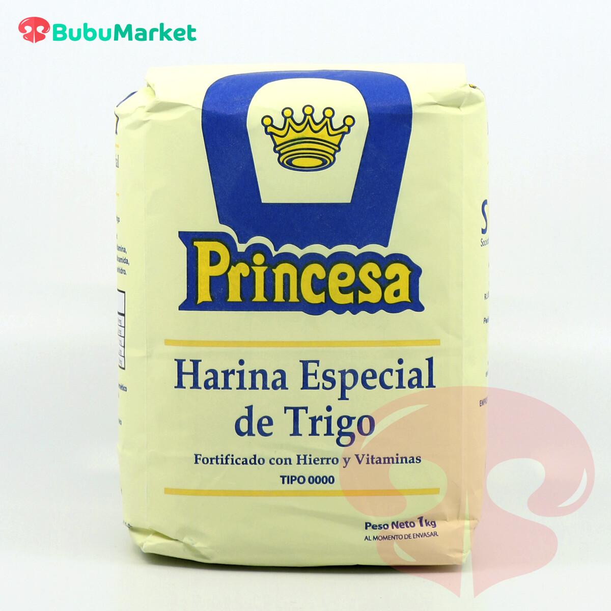 HARINA ESPECIAL DE TRIGO PRINCESA DE 1 KG.