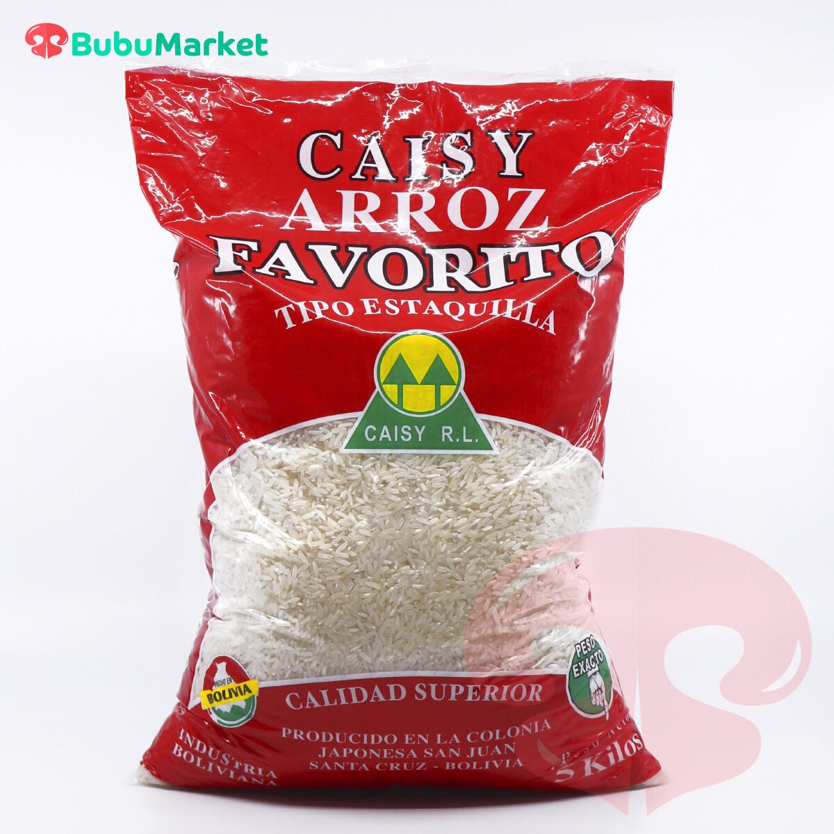 ARROZ CAISY FAVORITO BOLSA DE 5 KL.