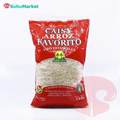 ARROZ CAISY FAVORITO BOLSA DE 1 KL.