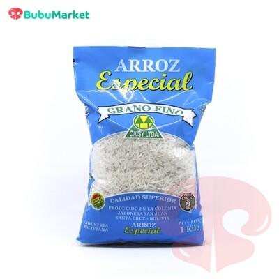 ARROZ CAISY ESPECIAL BOLSA DE 1 KL.