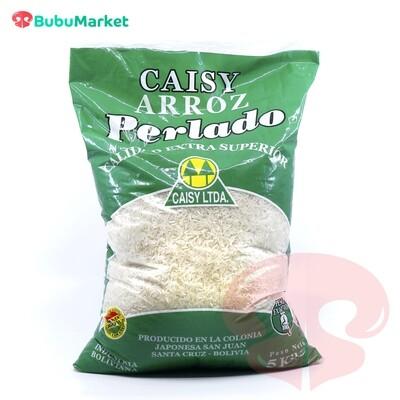 ARROZ CAISY PERLADO BOLSA DE 5 KL.