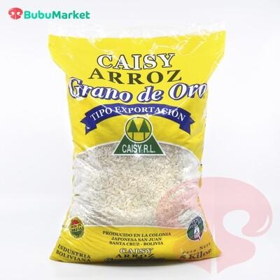 ARROZ CAISY GRANO DE ORO BOLSA DE 5 KL.