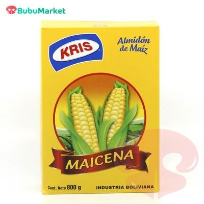 MAICENA ALMIDON DE MAIZ KRIS CAJA DE 800 GR.