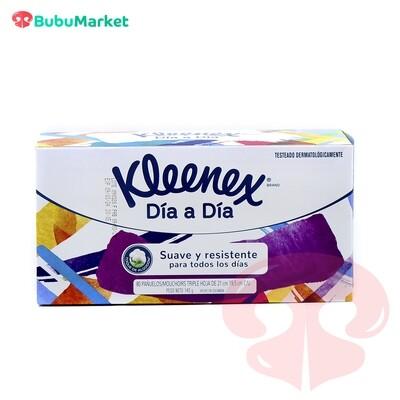 PAÑUELOS DESECHABLES KLEENEX DIA A DIA 80 U.