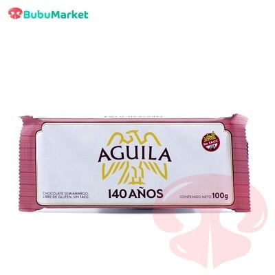 CHOCOLATE SEMIAMARGO AGUILA TABLETA 100 GR.