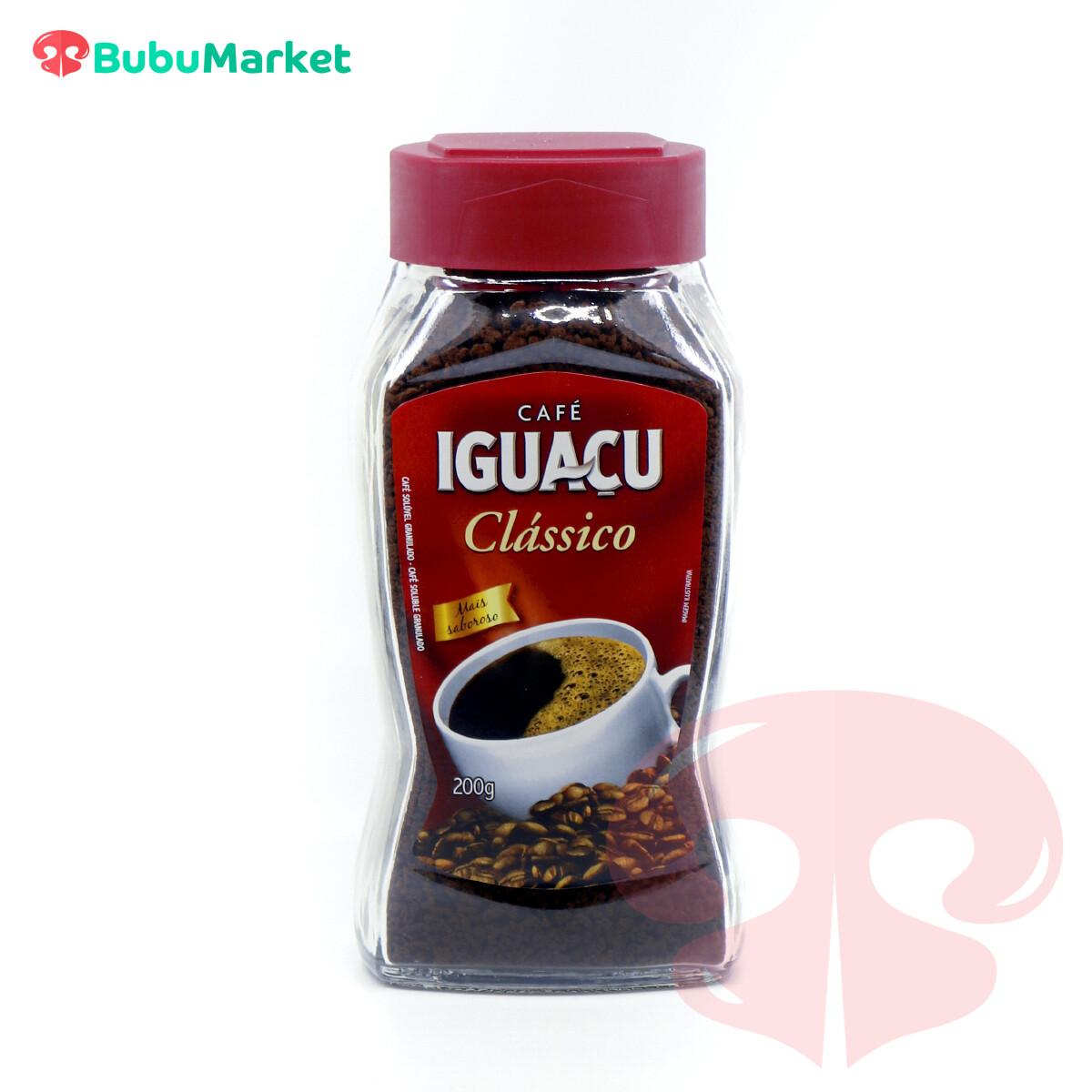 CAFE CLASSICO IGUAZU FRASCO DE 200 GR.