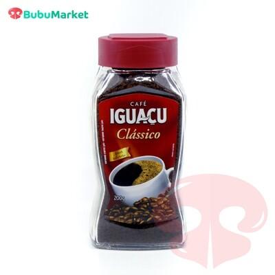 CAFE CLASSICO IGUACU FRASCO DE 200 GR.
