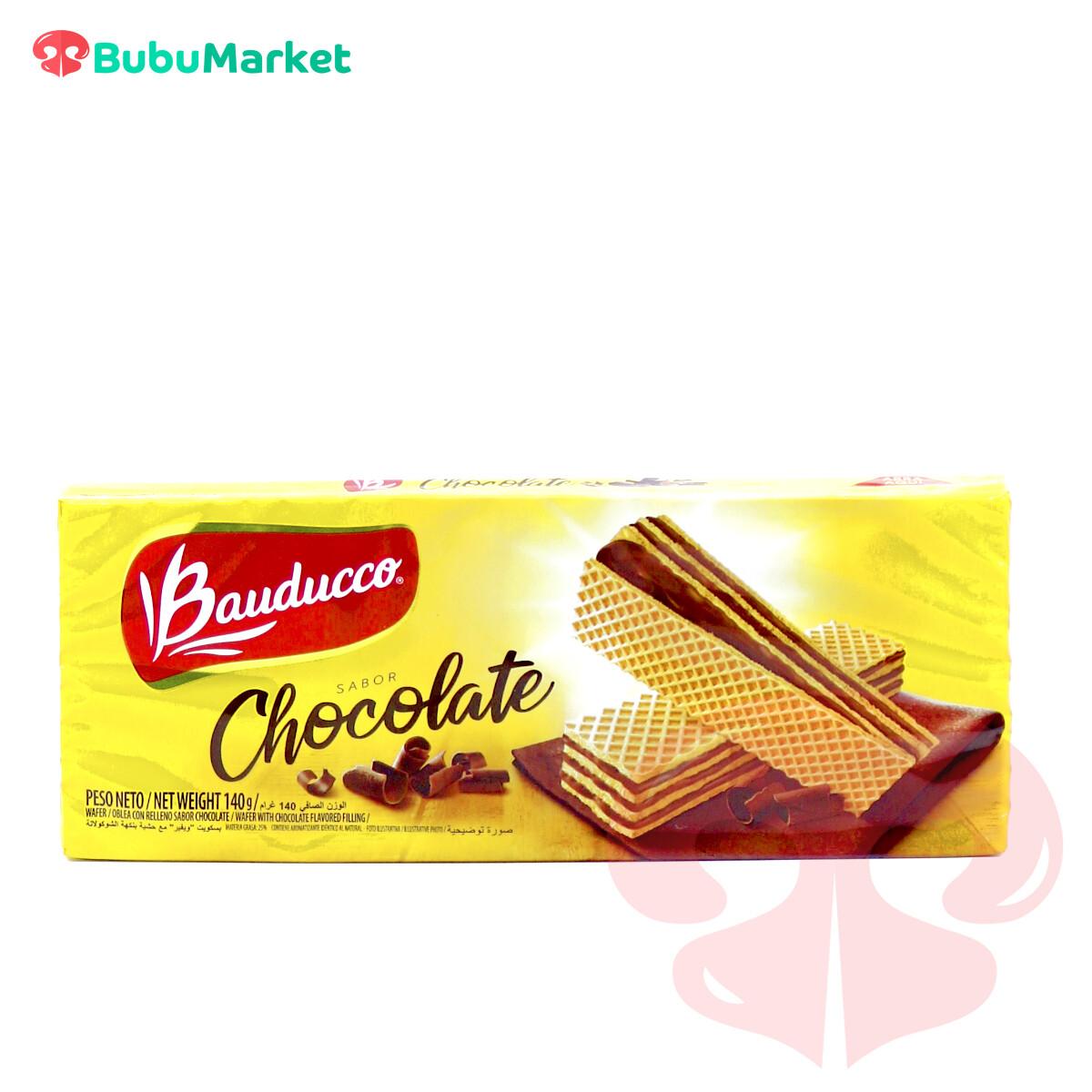 WAFFER DE CHOCOLATE BAUDUCCO 140 GR.