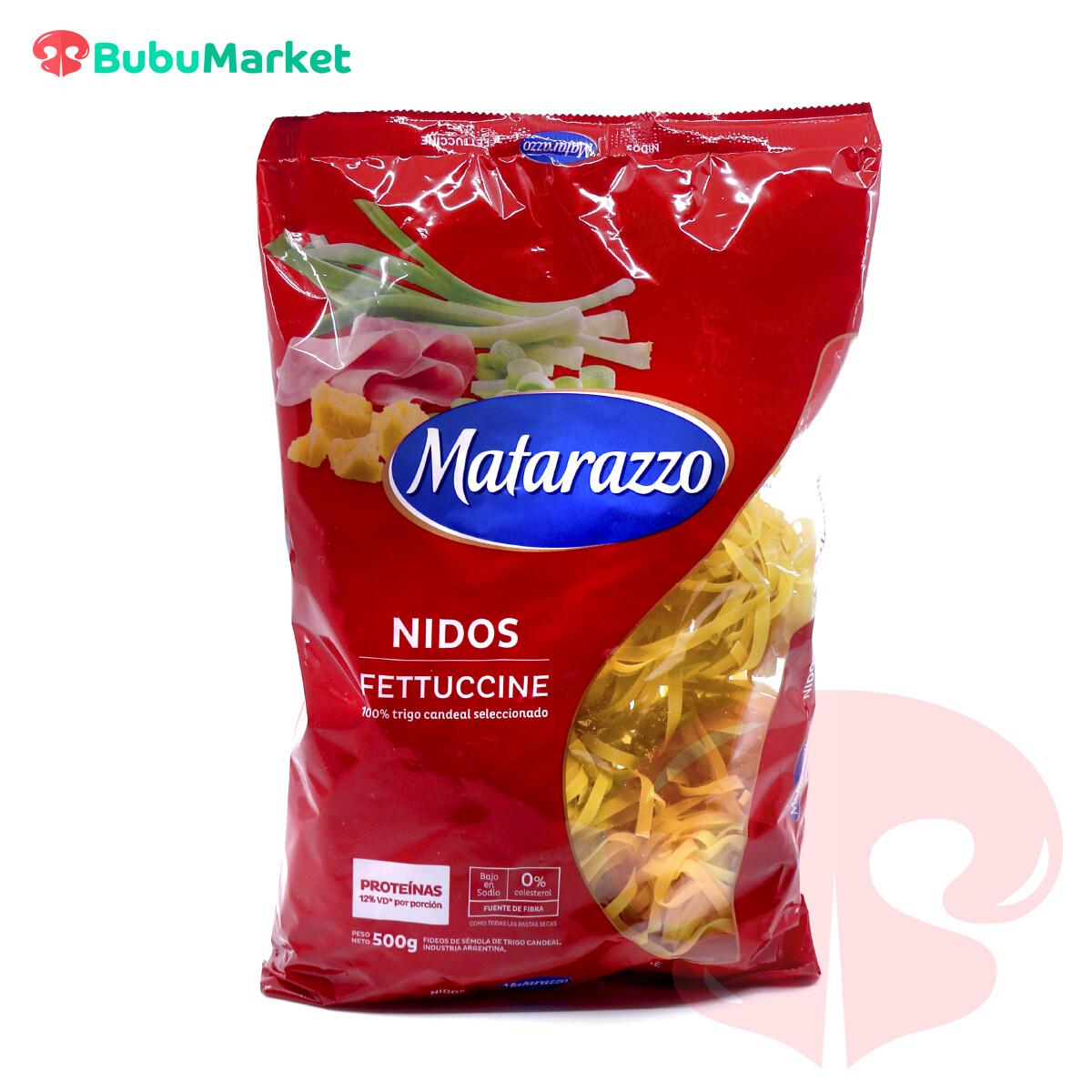 PASTA NIDOS FETUCCINE MATARAZZO 500 GR.
