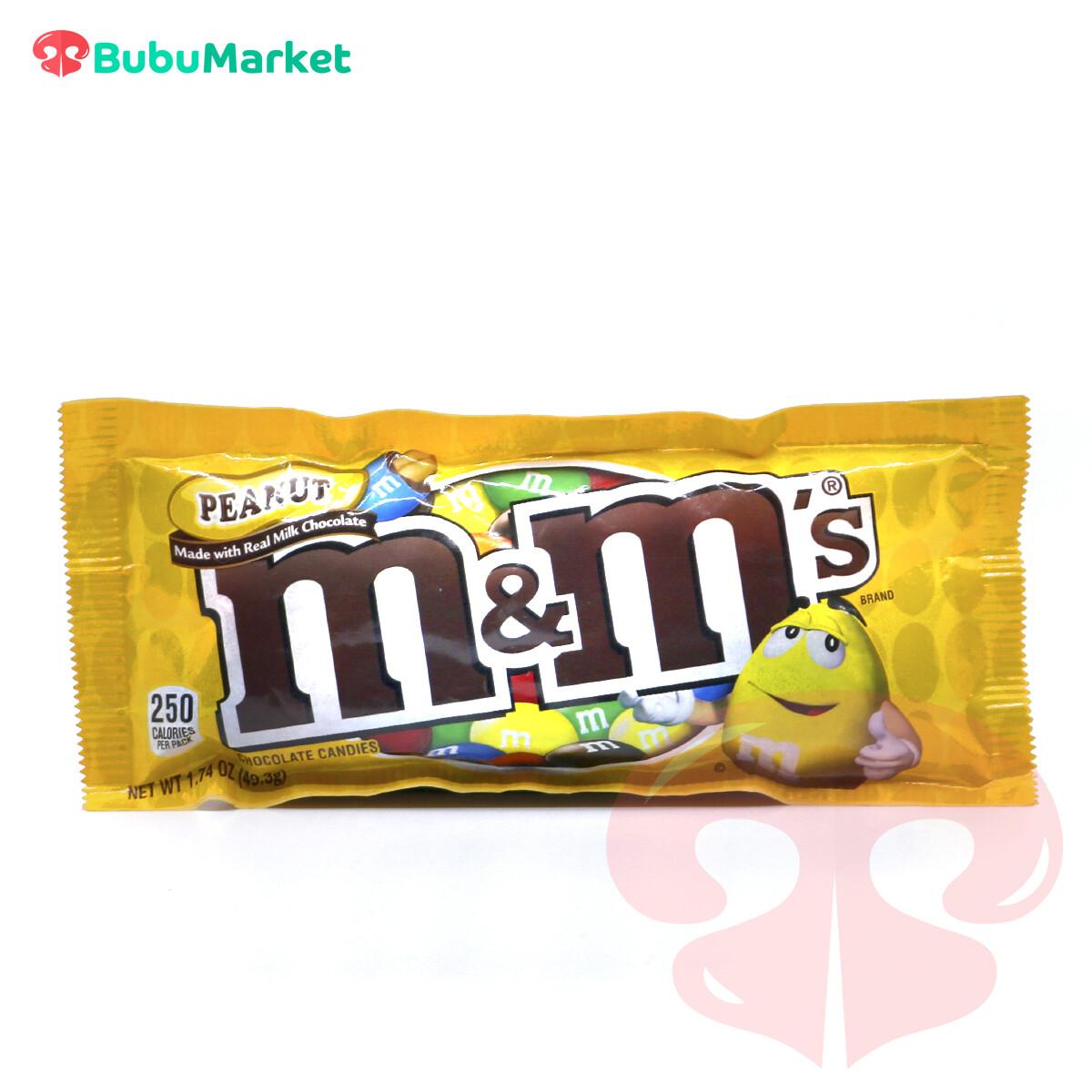 CHOCOLATE PEANUT (MANI) M&M S 49,3 GR.