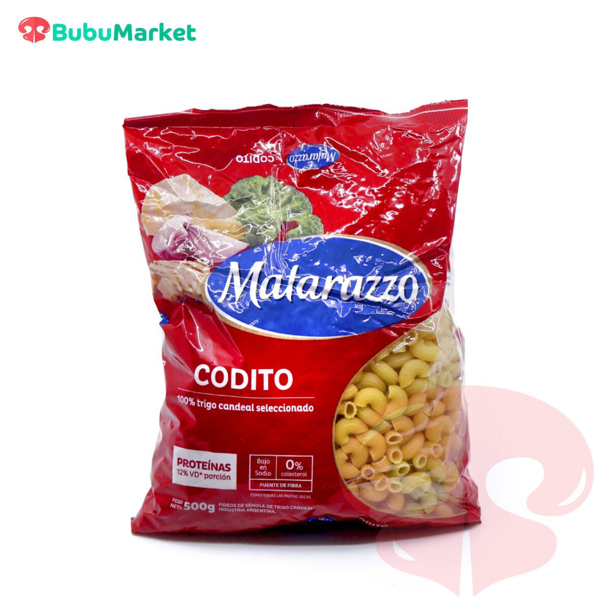 PASTA CODITO MATARAZZO 500 GR.