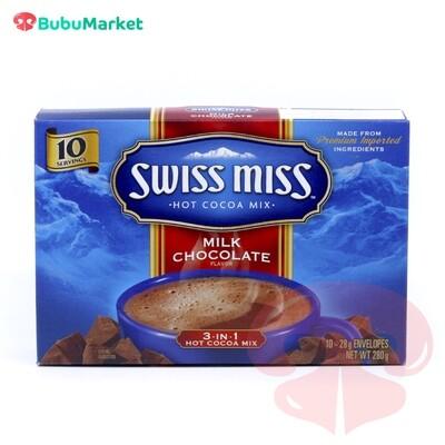 CHOCOLATE CALIENTE SWISS MISS MILK CHOCOLATE 10 U.