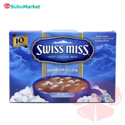 CHOCOLATE CALIENTE SWISS MISS MARSHMALLOW 10 U.