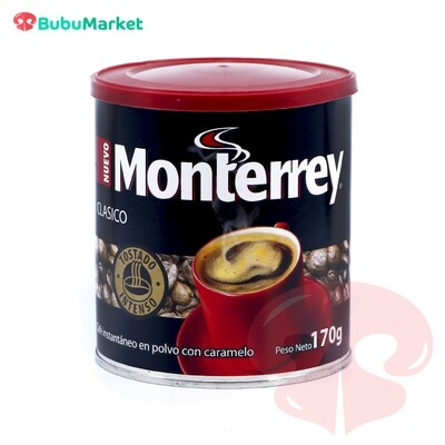 CAFE MONTERREY CLASICO LATA DE 170 GR.