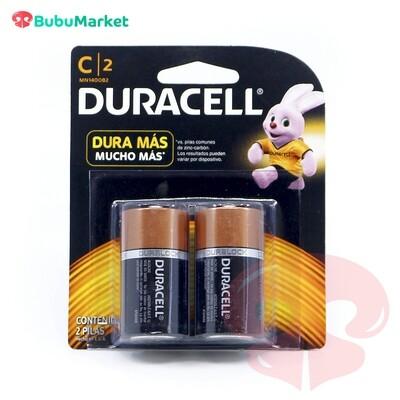 PILAS DURACELL (C) PACK DE 2 U.