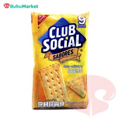 GALLETAS CLUB SOCIAL SABOR QUESO PACK DE 9 U.